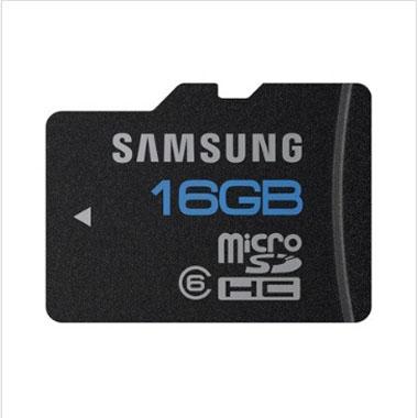 三星原装 16G class6 TF 存储卡 标准版