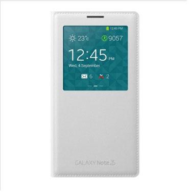三星 N9002/N9006/N9008/N9009 GALAXY Note3 原装皮套 智能开屏